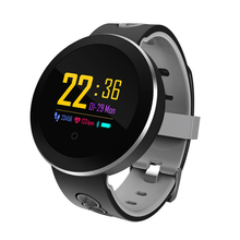 Chigu Q8 Color Touch Screen Smartwatch Heart Rate Monitor Smart Watch Sport Fitness Men Women Wearable Devices for iOS Android
