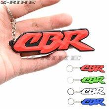 3D мотоцикл брелок Белый Мотоцикл аксессуары цепочки для ключей резиновый брелок для Honda CBR 600 RR CBR 1000 RR 900 919 954 cbr