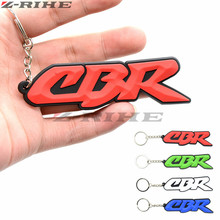 Motorcycle Key Chain Keychain Keyring ring SOFT RUBBER keychains rubber For Honda CBR 600 RR 1000 900 919 954 cbr
