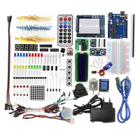 Starter Kit/Learning Kit / with A Dedicated Power Supply 9V-1A for arduino DIY KIT