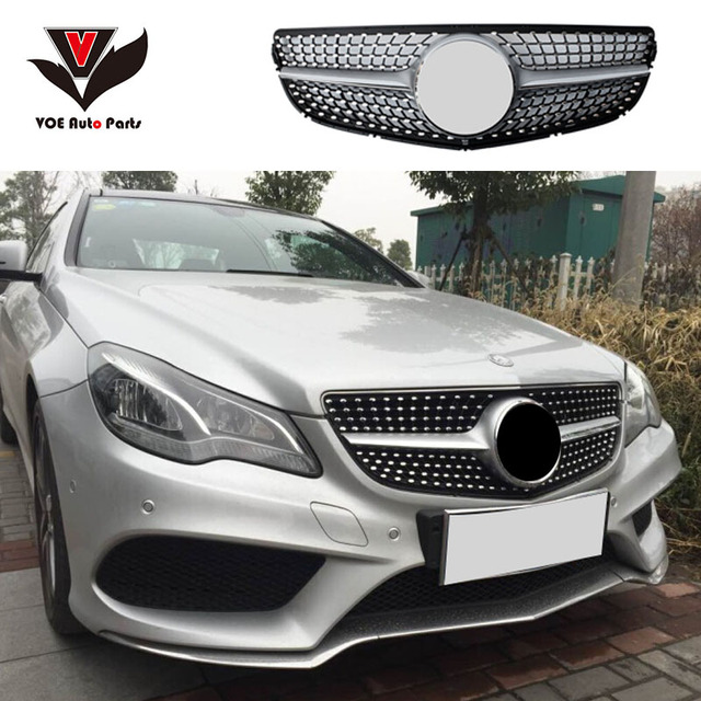 2017 2016 W207 Diamond Style Front Racing Grill Grille For Mercedes Benz E Cl Coupe 2 Door