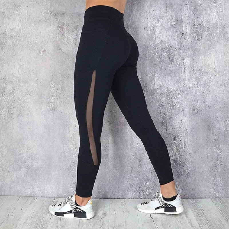Yoga Pants Women High Waist Yoga Leggings Fitness Sport Leggings Women Training Tights Running Pants Women Gym Leggings in Yoga Pants from Sports Entertainment