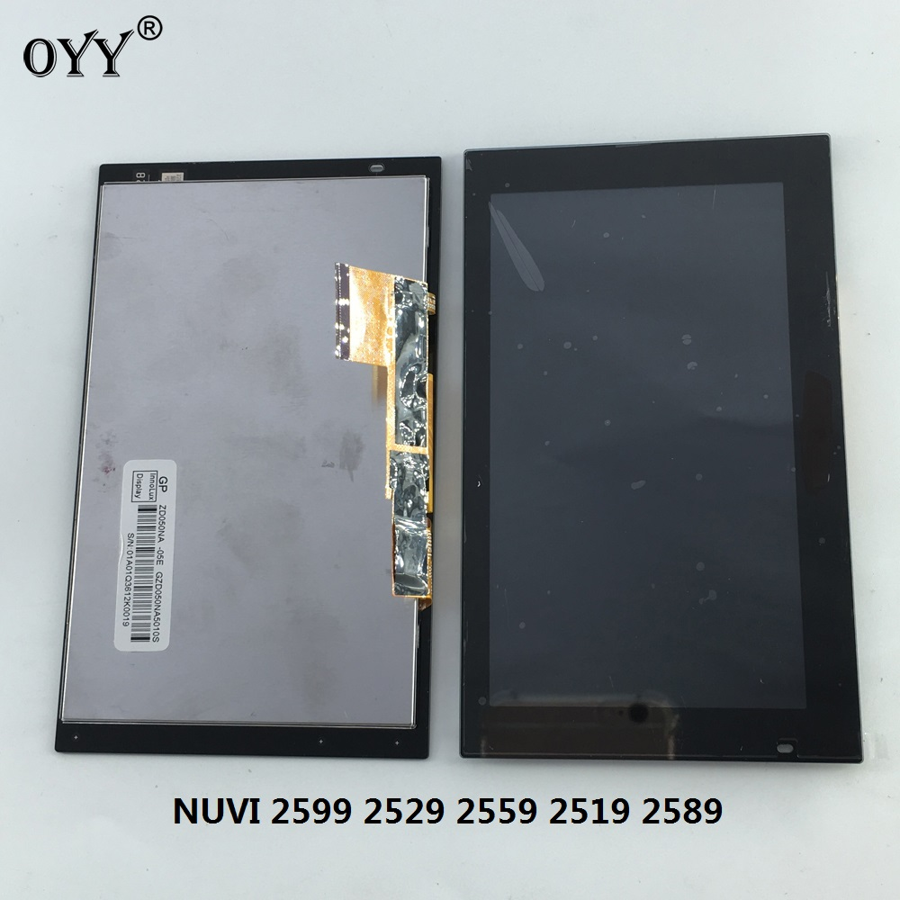 5.0 inch capacitive touch screen LCD Display Digitizer Glass Assembly for Garmin NUVI 2599 2529 2559 2519 2589 LM ZD050NA-05E new 11 6 full lcd display touch screen digitizer assembly upper part for sony vaio pro 11 svp112 series svp11216px svp11214cxs