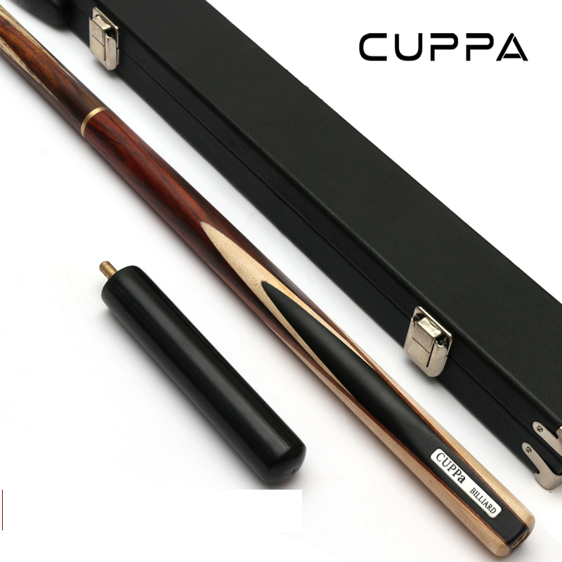 Cuppa 3/4 Snooker Cues Stick Pool Cue Maple  Shafts Billar stick 9.8mm/11mm Tip With Snooker Cue Case Set