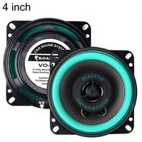 4 Inch 40W Car Coaxial Speaker Vehicle Door Car hifi Auto Audio Music Stereo Full Range Speakers for Car with Horn Cover