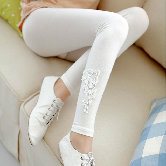 Primavera / verão de leggings, Calças de maternidade mulheres Casual bordado, Roupas para mulheres grávidas