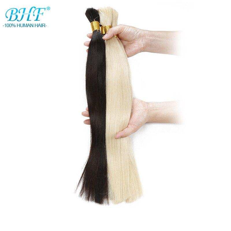 Human Braiding Hair Bulk No Weft 18″20″22″24″ Long Length Human Braiding Hair Bulk 1#/2#/8#/613# in Stock Raw Hair Virgin Bulk