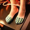 2016 мелкая рот силиконовые противоскользящие стелс горох женские носки женские хлопок носок Тапочки