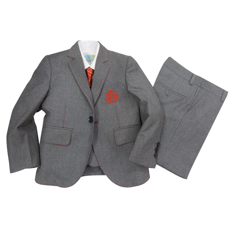 Boys suit Weddings Kids tuxedo clothing sets Children Birthday clothes Jacket Vest Trouser 3 pieces Formal suits - SutoneFeel Suit Store store