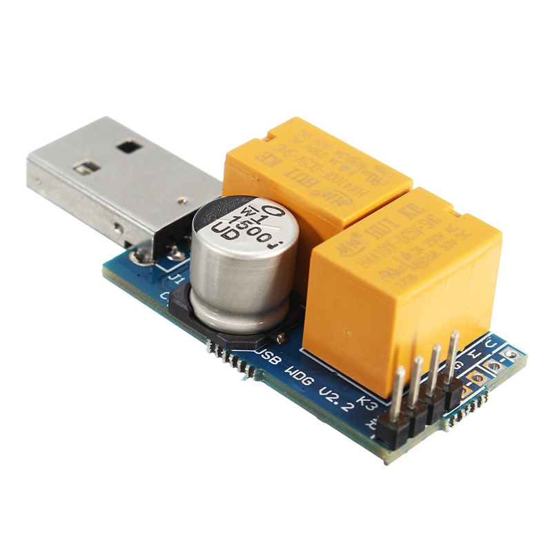 High Quality USB-C Unattended Operation Crash Auto Recover Reboot USB Watchdog Card / Computer / Mining / Game / Server / BTC