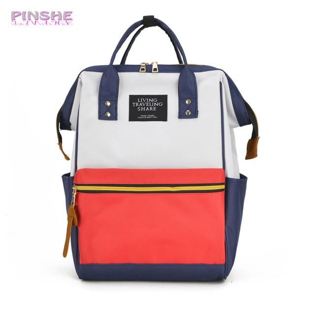 Fashion Women Backpacks Female Denim School Bag For Teenagers Girls Travel  Rucksack Large Space Backpack Shoulders Bag PINSHE 5f9830c28c496