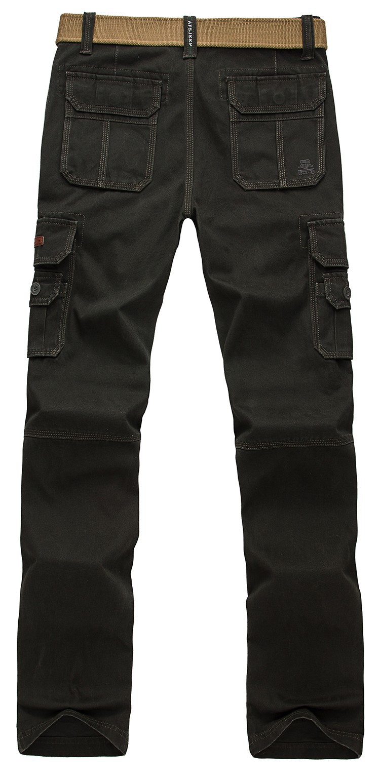 2015 Brand AFS JEEP Men New Pants Autumn Winter Cotton Cargo Casual Pants Pockets Fashion High Quality Mens Slim Pant Size 30~44 (14)
