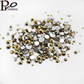 Retro Color Aurum Mix Size Nail Art Rhinestone SS3 SS4 SS5 SS6 SS8 SS10 SS12 SS16 SS20 SS30 Luxury 3D Nail Decoration