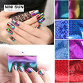 56 Designs 10pcs Symphony Nail Foil Sticker Star Style Art Polish Transfer Decal DIY Beauty Craft Nail Decorations Supplies