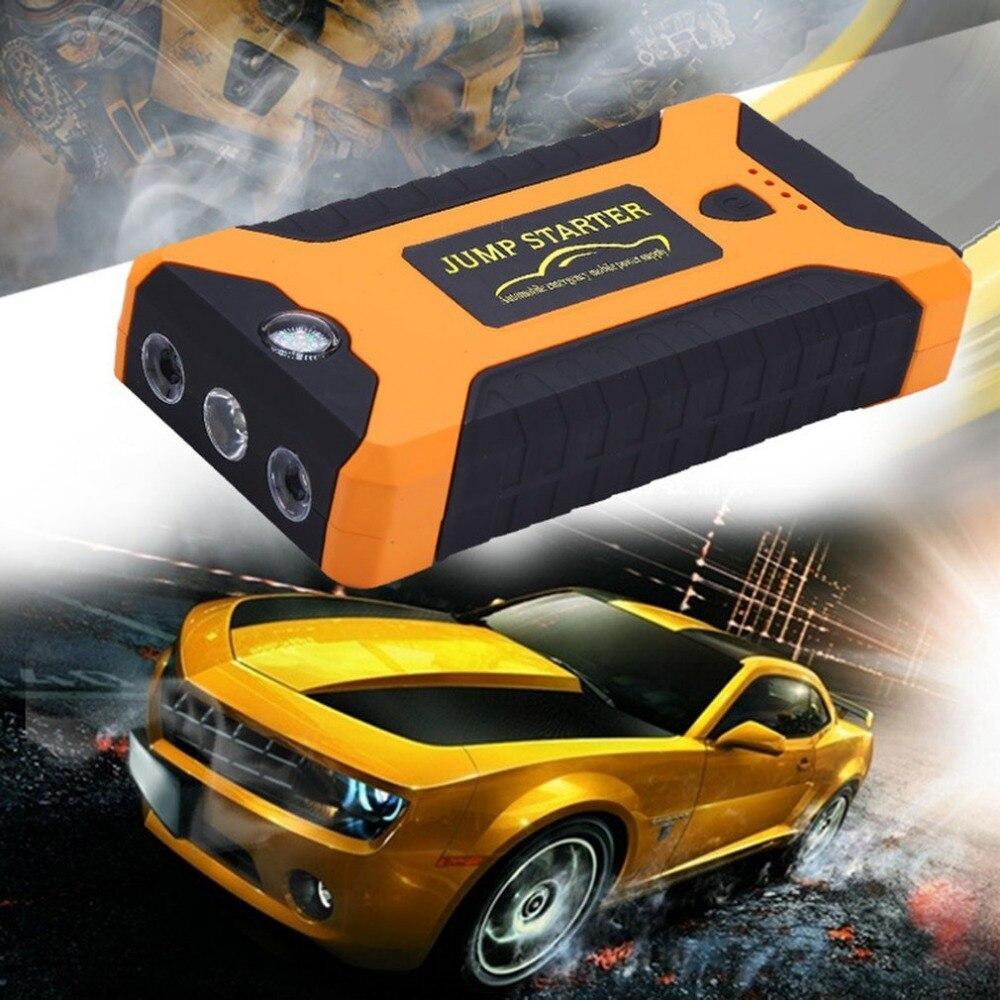 22000 мАч Многофункциональный Пусковые устройства Батарея аварийного авто Питание 12 В ЖК-дисплей цифровой Двигатели для автомобиля Booster Запа…