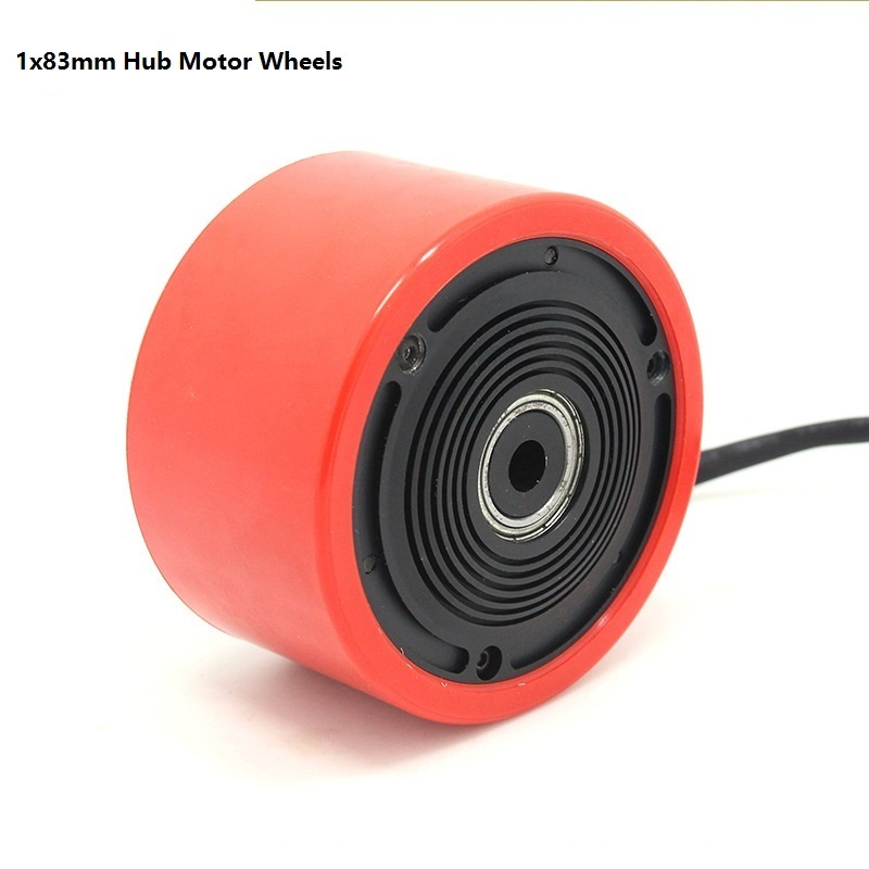 elétrico diy com motor elétrico 70mm 83mm para skate longboard e-skate