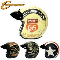 Chopper Vintage Motorcycle Helmet Motocicleta Cacapete Casco Casque Harley Retro Helmets DOT Approval CG512