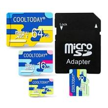 Newest Memory Card Micro SD Card 64G 32GB TF Card Class 10 16GB 8GB 4GB Mini Flash Card with Adapter Free Shipping