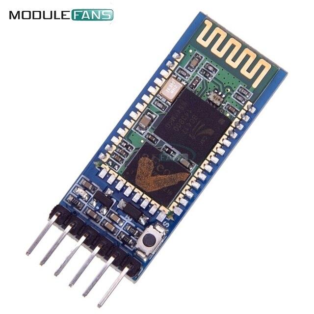 Módulo Sem Fio Para Arduino HC-05 HC05 Receptor de Série 6 Pin Bluetooth RF Transceiver Module RS232 Escravo Mestre 3.3 V