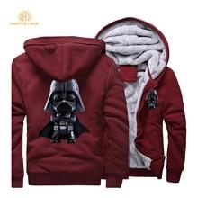 Jedi Knights Darth Vader Star Wars Men Hoodies 2019 Spring Movie Hoody Fleece Mens Long Sleeve Tracksuit Casual Coat M-5XL CM01