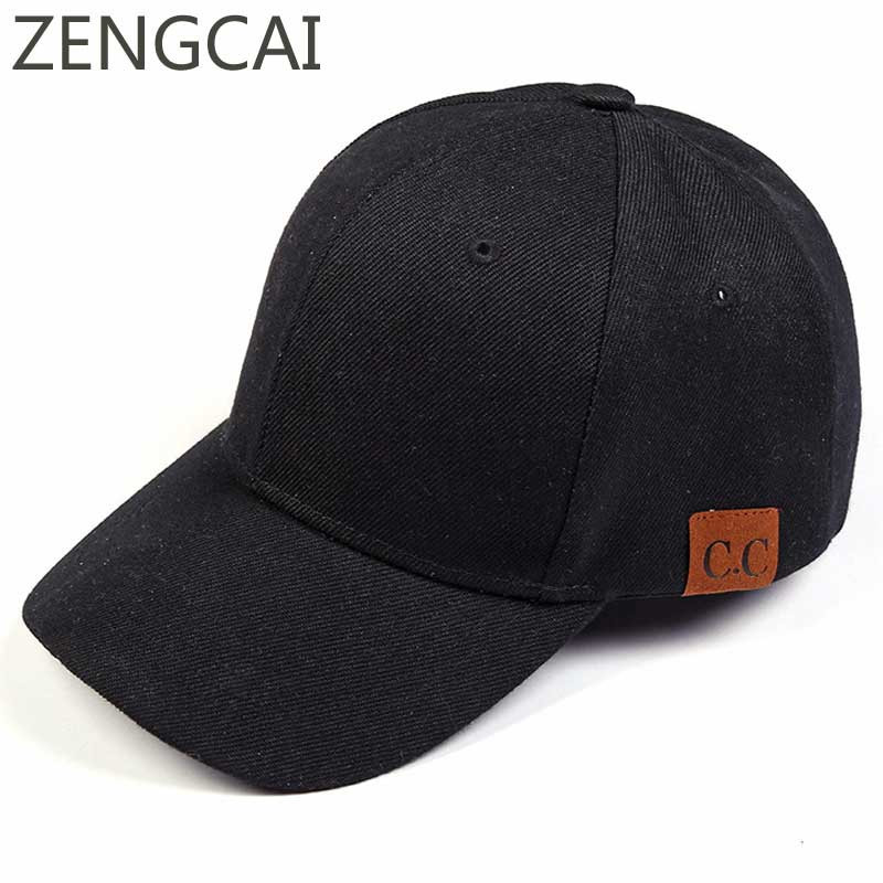 Fashion CC Plain Baseball Cap Men Women Trucker Snapback Simple Hats Casual Unisex Solid Dad Hat Hip Hop Sports Caps Adjustable baseball cap men s adjustable cap casual leisure hats solid color fashion snapback autumn winter hat