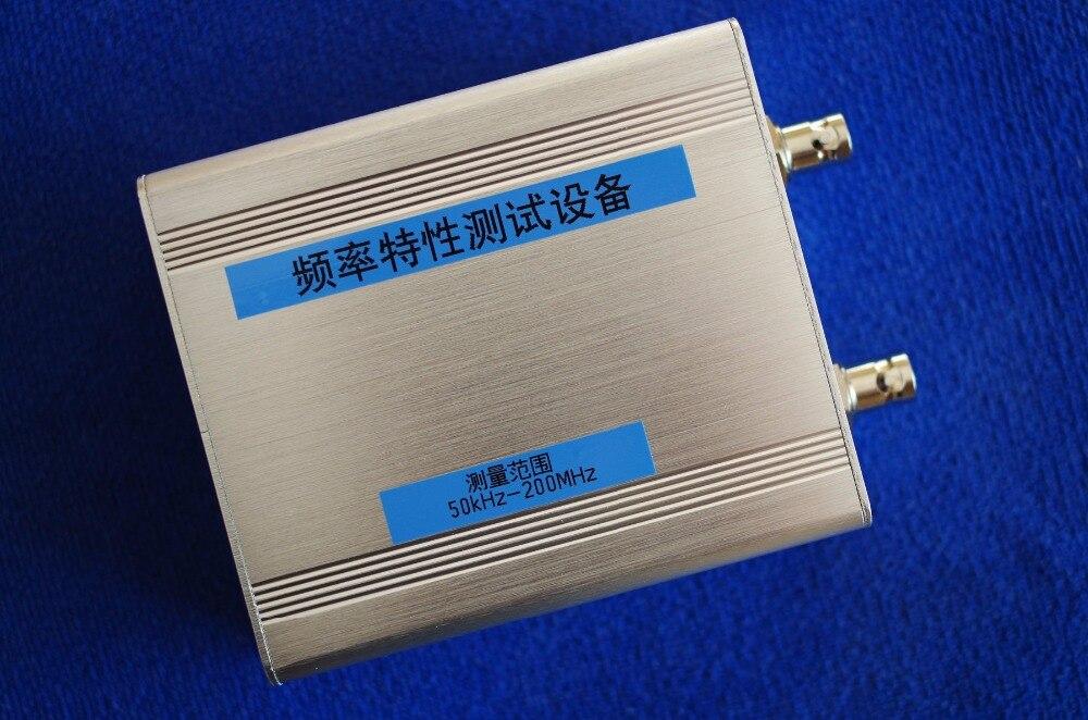 NWT200 50 KHz ~ 200 MHz balayeuse/analyseur de réseau/filtre/Amplitude/caractéristiques de fréquence/Source de Signal-in Écouteurs from Electronique    1