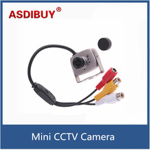 Super Mini CCTV Micro Camera Color Wired 1 4 Color CMOS CCTV Security Camera Surveillance Monitor