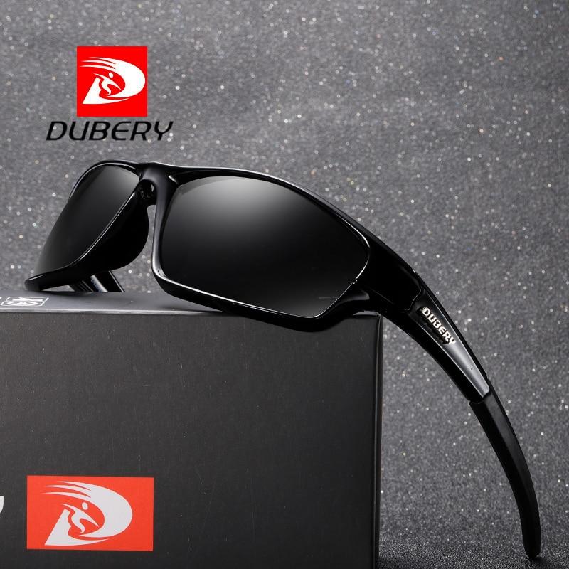 5bca9fb45 DUBERY Retângulo Espelho Polarizada Óculos De Sol Dos Homens de Design Da  Marca Esporte de Luxo Shades Oculos Do Vintage Masculino Óculos de Sol Para  Homens ...