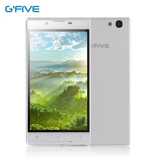 "Gfive Gpower 5.0 ""HD Четырехъядерных Процессоров Смартфон 1 Г + 8 Г Android 5.1 8.0MP 1280x720 Двойная батарея 2x2000 мАч Dual SIM Карты Мобильного Телефона"