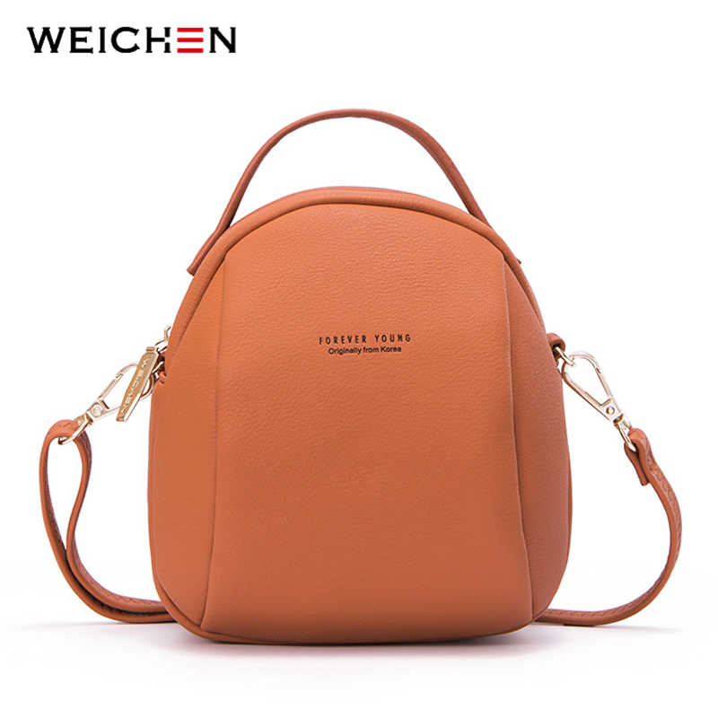 5402414834de WEICHEN Brand Fashion Messenger Bag Women High Quality Leather Small  Shoulder Crossbody Bags Female Purse Ladies