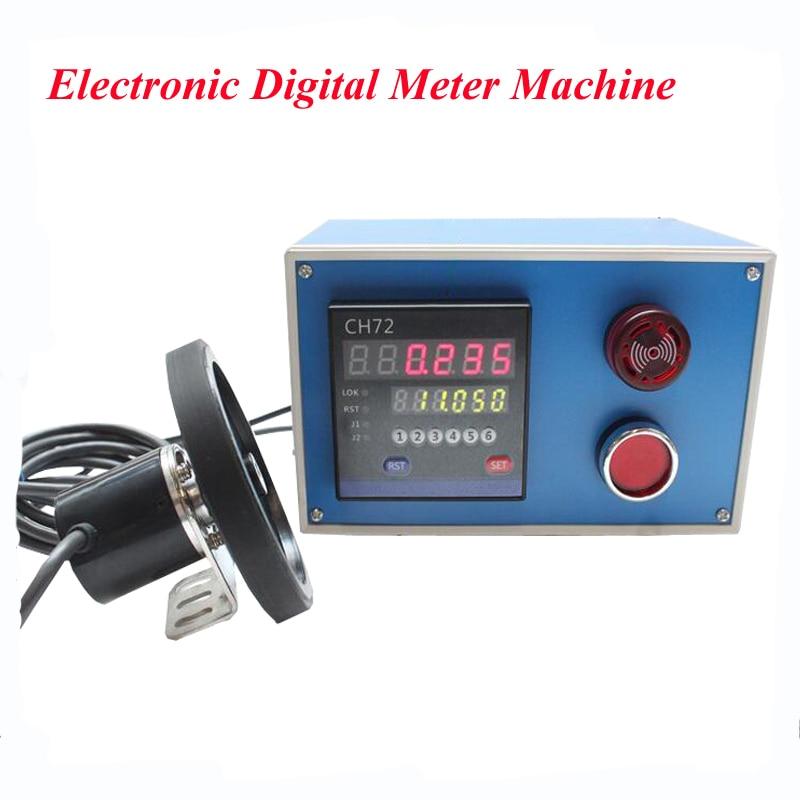 Electronic Digital Meter Machine Meter Electronic Encoder Wheel Roll to Measure Length Meter Recorder CH72 roller type rice wheel lk50 lk 50 1 length measuring sensor meter electronic meter electronic meter wheel