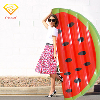 Giant Half Watermelon Inflatable Pool Float For Adult And Children Floating Island Swimming Board Air Mattress Water Toy Piscina