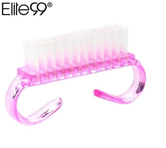 Elite99 Top Nagel Reinigung Nagel Pinsel Werkzeuge Datei Nail art Pflege Maniküre Pediküre Weiche Entfernen Staub Kleine Winkel Sauber Für nail art