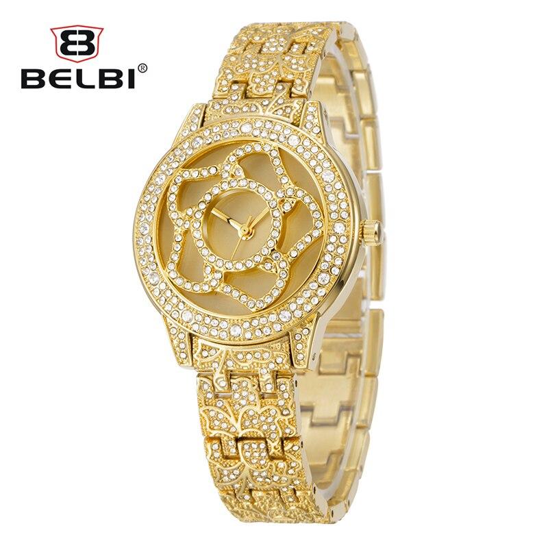 2019 Reloj de la marca Reloj de cuarzo Relojes de pulsera de - Relojes para mujeres