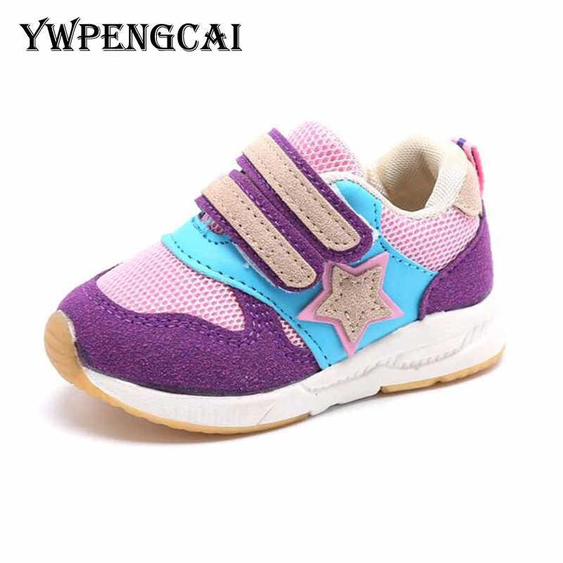 1-6 yıl Ilkbahar Sonbahar Çocuk Ayakkabıları Patchwork Renkler Erkek Ayakkabı Yumuşak Nefes Çocuklar Sneakers Okul Açık Kızlar Ayakkabı