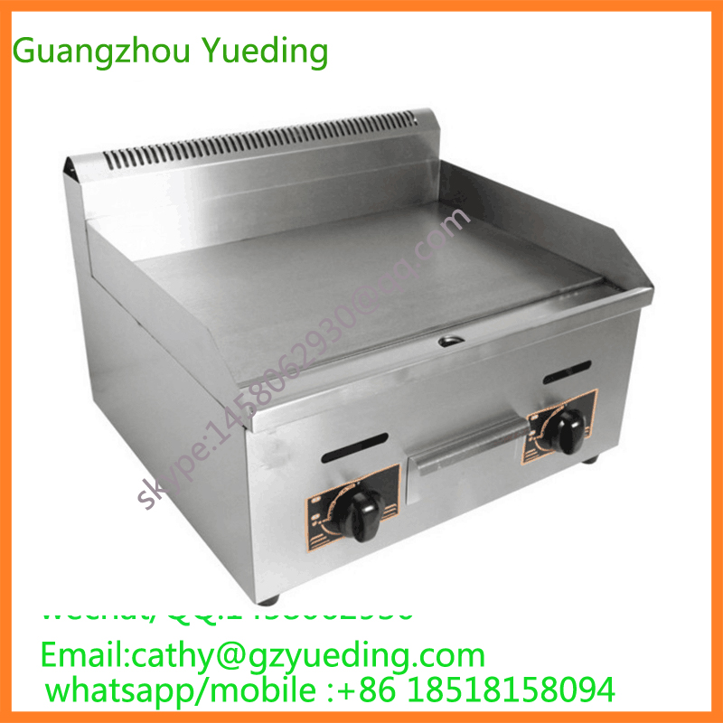 купить Catering equipment, commercial stainless steel flat plate gas grill griddle по цене 7638.84 рублей