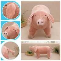 25cm Simulation Piggy Plush Toy Cartoon Pig Doll Accompany Sleeping Stuffed Animal Soft Toys House Decor Children Gift LYY9100