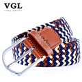 VGL Designer Fashion Belts Men Casual Pin Buckle Canvas Belt High Quality Strap Male Tactical Belt for Men Jeans Ceinture Homme