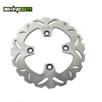 BIKINGBOY Rear Brake Disc Disk Rotor For SUZUKI GSXR 250 1987 1988 RGV 250 1991-1996 SG 350 Goose 1992-1999 RGV 250 SP 1996-