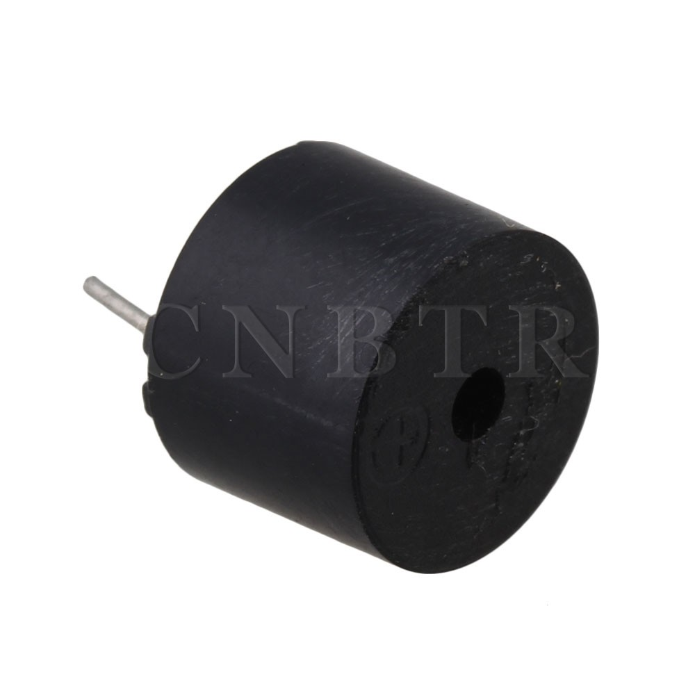 Cnbtr Black 3v Electromagnetic Type Piezo Buzzer Continuous Sound Sounder Circuit Pack Of 20 In Instrument Parts Accessories From Tools On Alibaba Group