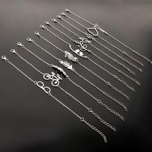 Simple Style Silver Plated Charm font b Bracelet b font font b Jewelry b font Gift