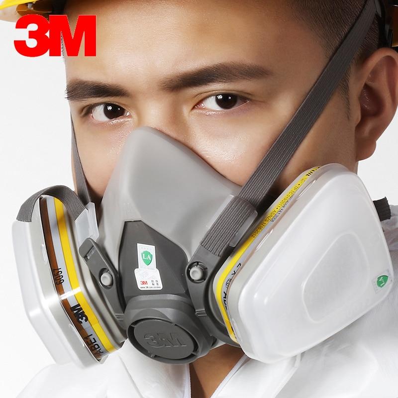 15 in 1 3M 6200 6057 gas mask Reusable Half Face Mask Respirator Mask organic Chlorine