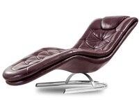 10 stühle PACK  Liege Lounge Stuhl mit Authentische Leder Polster/Meer Schiff  kann> 10 wochen für lieferung