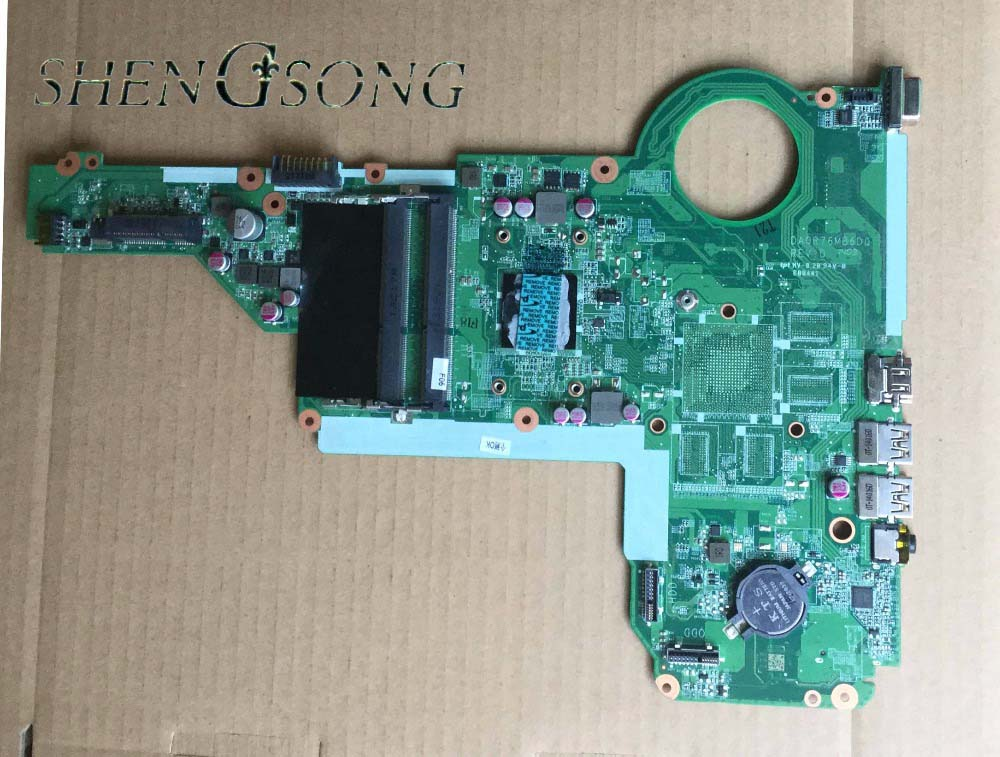 free shipping ! 100% tested 722204-501 722204-001 DA0R76MB6D0 for HP pavilion 15-E 14-E motherboard with for AMD cpu A6-5200m 712921 501 712921 001 free shipping for hp 4540s 4440s motherboard 4540s with cpu i3 3110m ddr3 tested