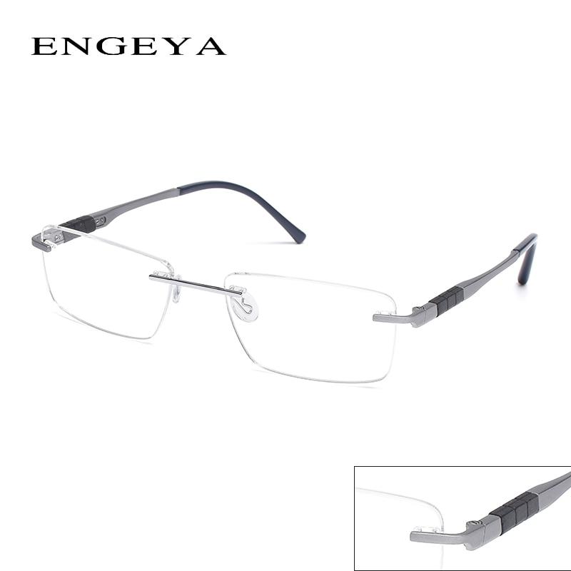 ec96bbd3941 2016 ENGEYA Super Light Titanium Alloy Prescription Glasses Frame ...