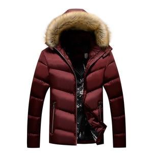 Image 5 - BOLUBAO Marke Männer Warme Parka Hohe Qualität Winter Männliche Mit Kapuze Mantel Jacken Casual Pelz Kragen Winddicht herren Parka