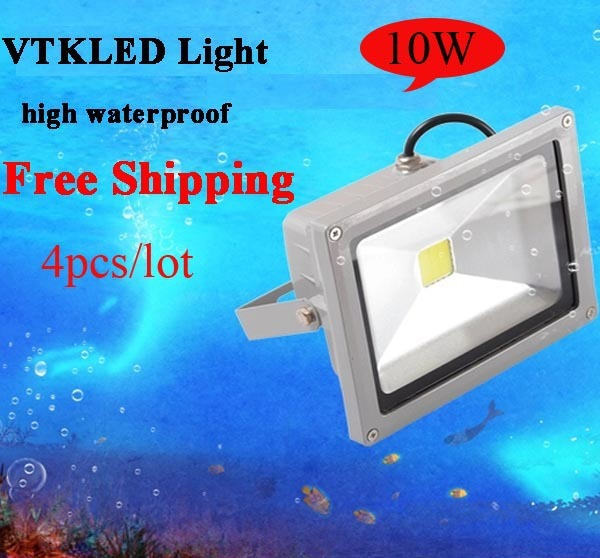 10W 85-265V High Power Flash Landscape Lighting LED Flood Light Floodlight Outdoor Lamp Free Shipping