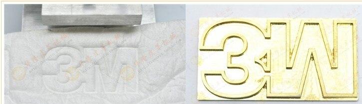 2 Einheiten X Heißer Folie Stempel Kupfer Form Messing Mould Angepasst Der 5x7 Cm üBereinstimmung In Farbe Bindemaschine