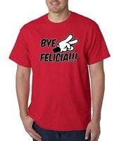 Askeri T ShirtsGraphic O-Boyun Yeni Moda 432 Unisex T-Shirt Bye Felicia Karikatür Eller Barış Komik Mizah Friday Film Kısa-Sl