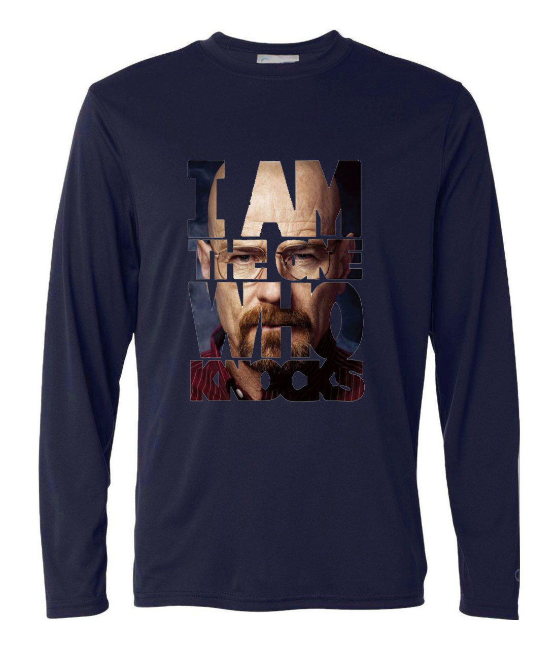 harajuku funny breaking bad t shirt Men 2019 autumn long sleeve Camisetas male casual harajuku brand  hip-hop punk tops tee pp